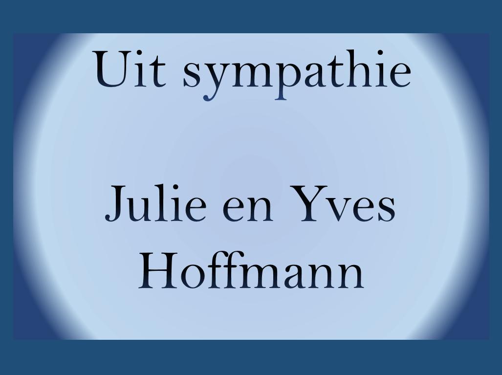 Julie en Yves Hoffmann